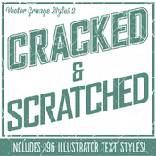 Grunge styles 2 cracked and scratched 6216829 icon