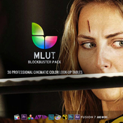 Mlut by motionvfx with lut plugin logo icon