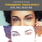 Typography photo effect 12010044 icon