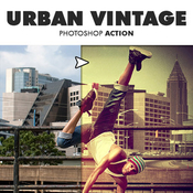 Urban vintage photoshop action 11751563 icon