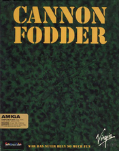 Cannon fodder game boxshot icon
