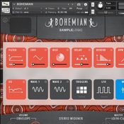 Sample logic bohemian icon
