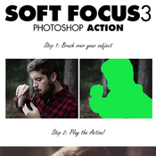 Soft focus 3 photoshop action 13257536 icon