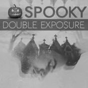 Spooky double exposure photoshop action 13249467 icon