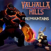 Valhalla hills fire mountains game icon