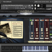 Cinesamples cinebrass descant horn icon