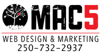 MAC5 Web Design & Marketing Duncan BC