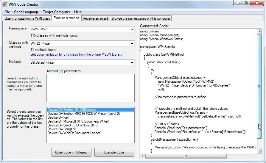 Tools to make WMI Programming Easier – Raymund Macaalay's