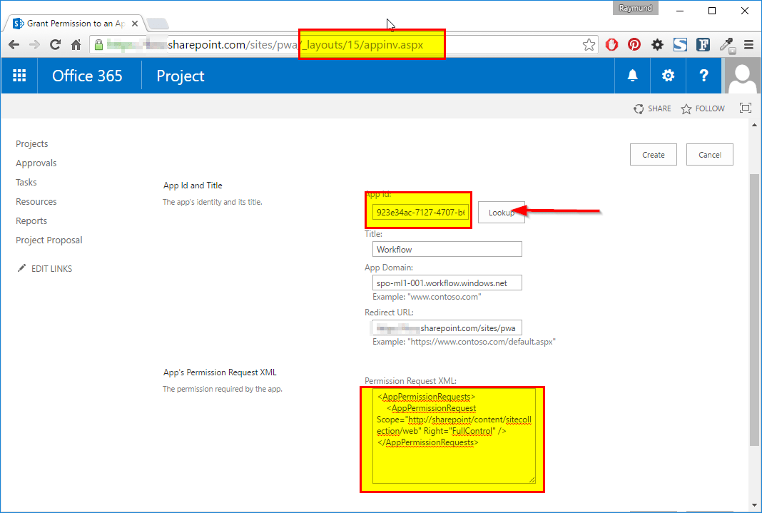 Giving Correct Permissions to Workflow on Sharepoint
