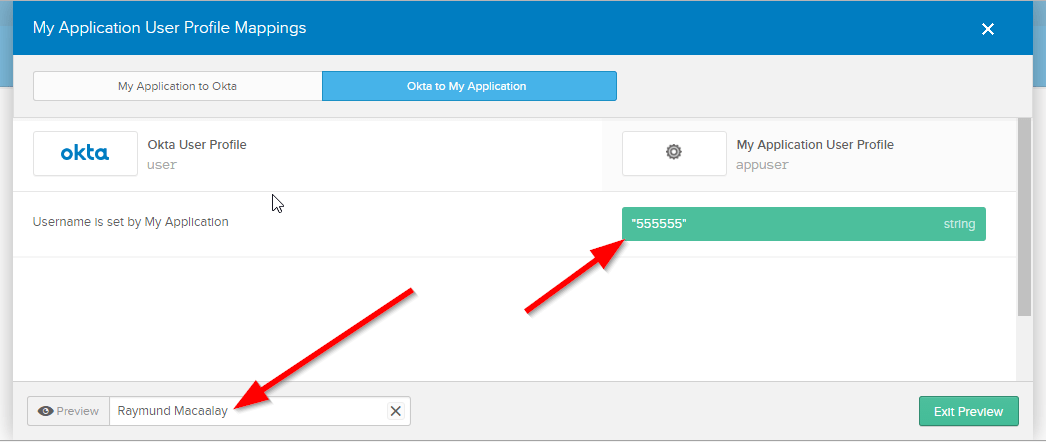 Using Employee Number or any Other AD Fields as a Username in OKTA