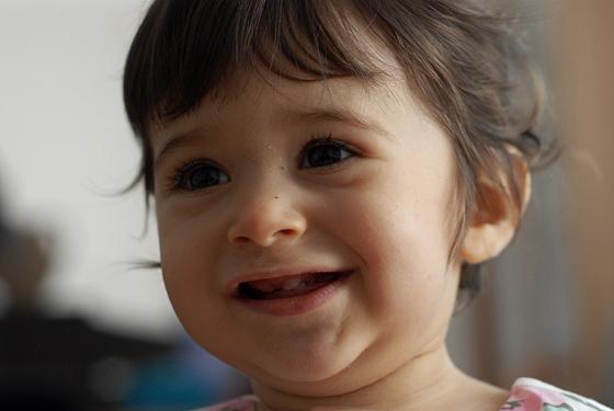 Joana, 1 ano.
