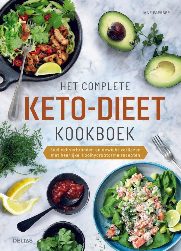 Het complete keto-dieet kookboek - Deltas