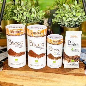 BIOCO koffie - COLOMBIA - Gemalen (250g)