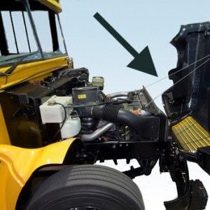 Blue Bird Vision Chassis Features | MacAllister Transportation