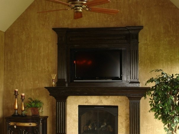 Fireplace Mantel Ideas  Faux Painting  Photos