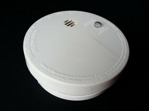 image d'un détecteur de fumée