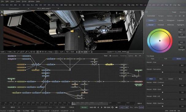 Blackmagic Design Fusion Studio mac