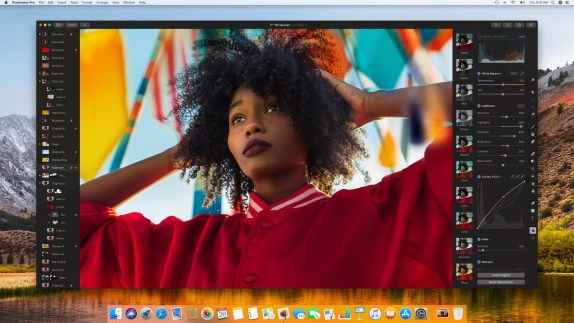 Pixelmator Pro windows