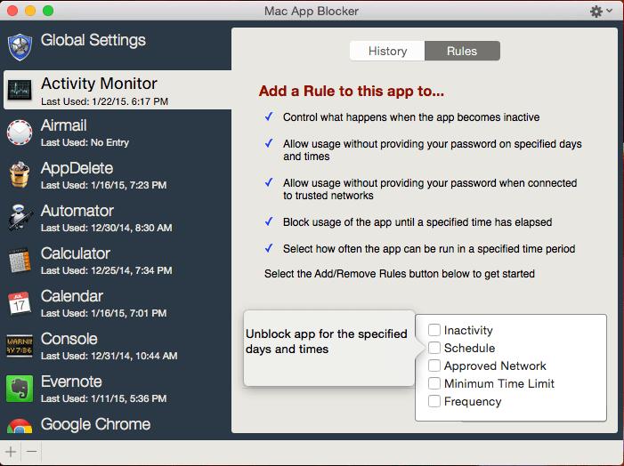 Mac App Blocker mac
