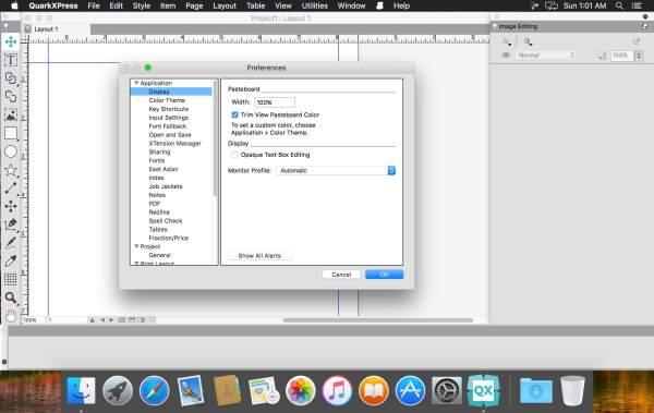 QuarkXPress mac