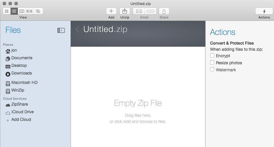 WinZip Mac Pro Mac