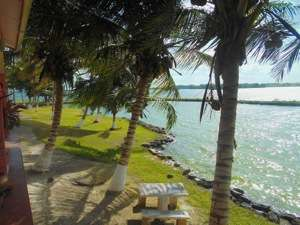Belize Lagoon Front Shangri-la Property for Sale