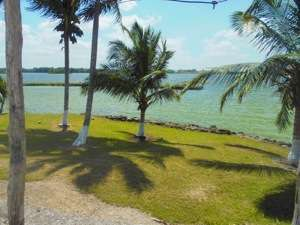 Belize Lagoon Front Shangri-la Property for Sale Lagoon