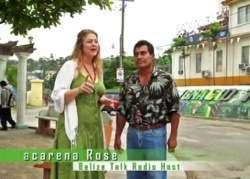 Pedro Cruz on Belize Talk Radio with Macarena Rose