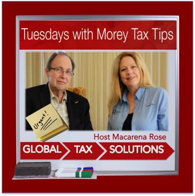 Tuesdays with Morey Tax Tips Radio Shows