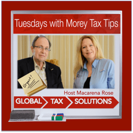 Expat Tax Facts: Tuesdays with Morey Tax Tips