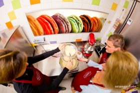 Backen Sie mit uns Macarons in einem unserer Workshops