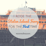 Places To Eat Staten Island Ferry
