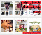 pinterest boards that make life easier