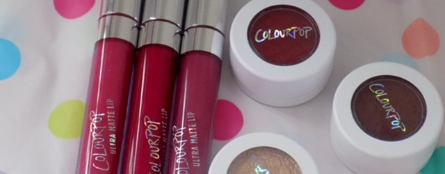 ColourPop Swatches & Review