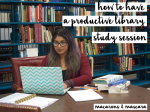 how to make an effective study schedule