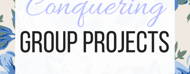 11 Tips For Conquering Group Projects