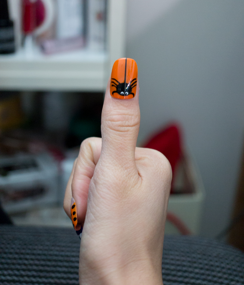 Halloween Themed Nails with Broadway Nails - Macarons and ...