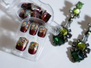 holiday-ize nails with impress