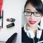 Make Up For Ever – Rouge Artist Intense #43 Moulin Rouge + Aqua Lip Liner 8C
