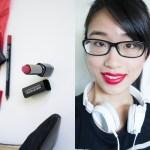 Make Up For Ever – Rouge Artist Intense #43 Moulin Rouge + Aqua Lip Liner 8C