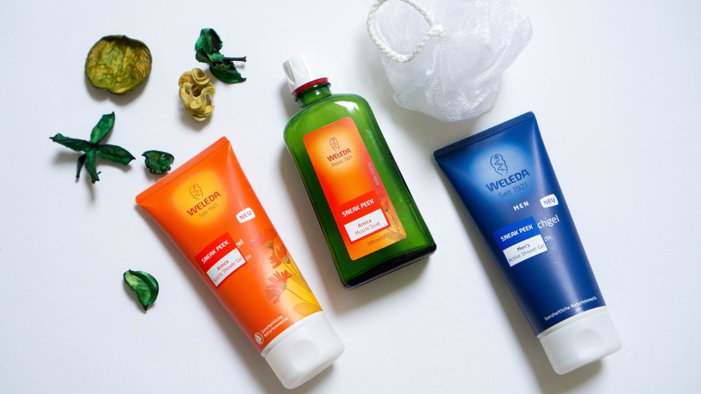 Weleda Muscle Soak and Shower Gel