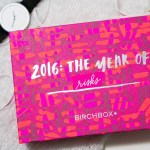 January BIRCHBOX CANADA 2016