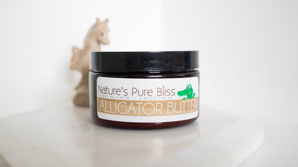 Nature's Pure Bliss alligator butter-1