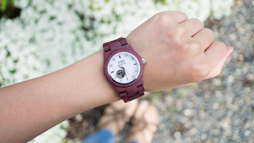 JORD Wood Watch| Cora mechanical watch