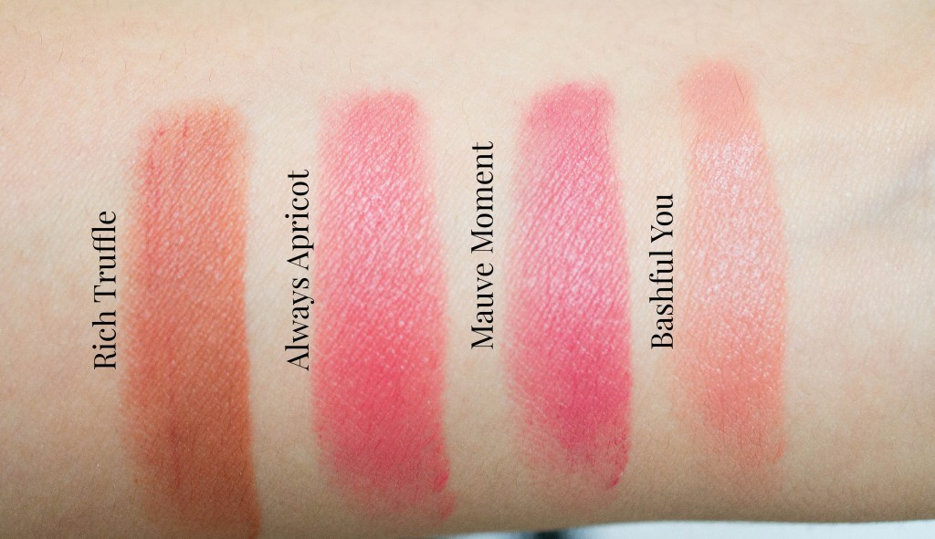 Mary Kay Gel Semi-Matte Lipstick review swatches (8 of 10)