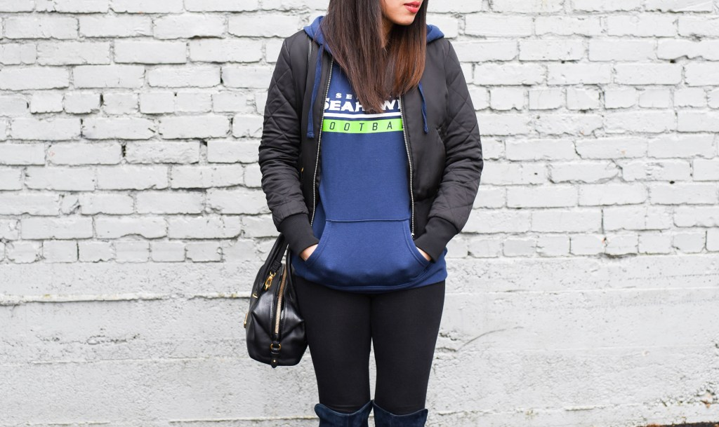 womens-seattle-seahawks-majestic-navy-self-determination-pullover-hoodie-1-of-1