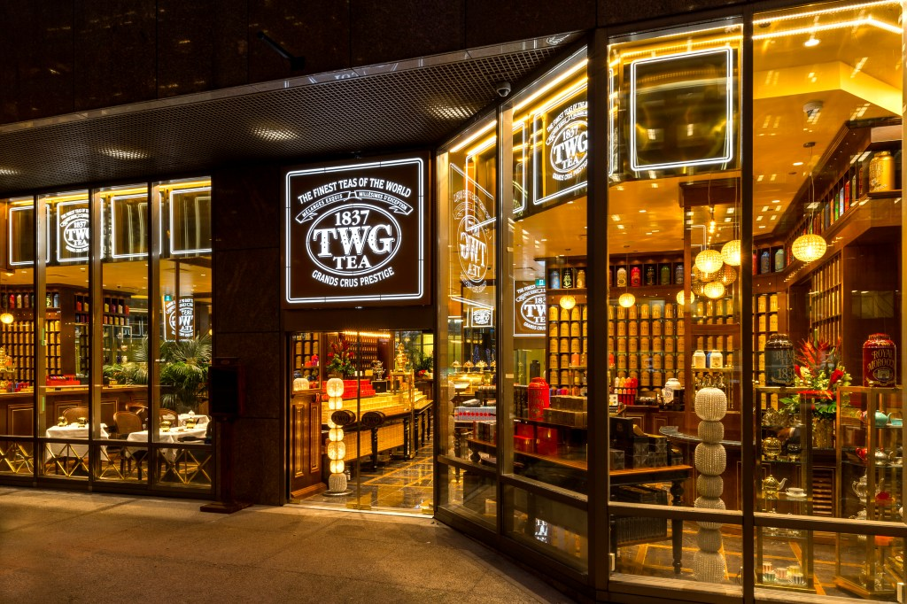 12/6/2016 — Vancouver, BC, Canada The new TWG Tea Salon & Boutique in Vancouver, BC, opens at 1070 W Georgia St, Vancouver, BC. Photograph by Stuart Isett