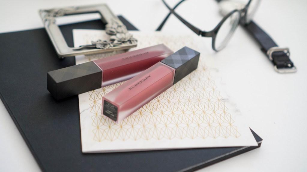 Burberry Liquid Lip Velvet No.53 Oxblood + No.17 Dark Rosewood