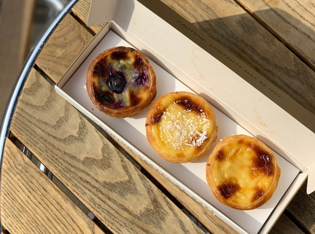 Peckish in South Kensington, London: Brompton Food Market, Cafe de Nata