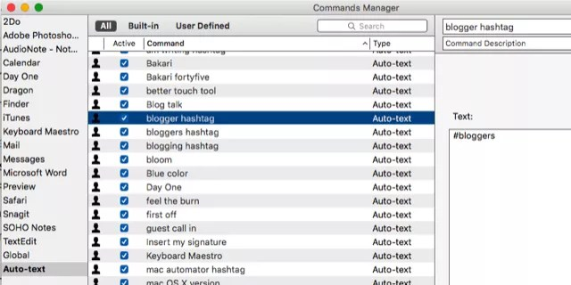 Commands Manager Dragon, Today at 3.48.27 PM